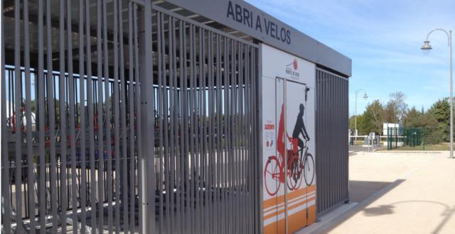 Consigne vélos ALTAO Spacio - AIX EN PROVENCE