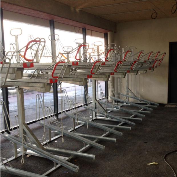 Parkings vélos double étage Optima - DOUAI
