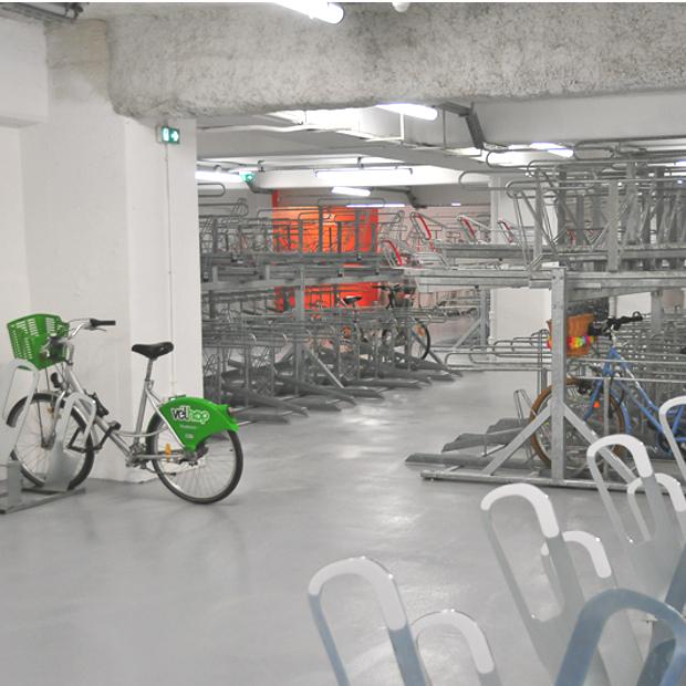 Stationnement vélos simple étage ALTAO Parco