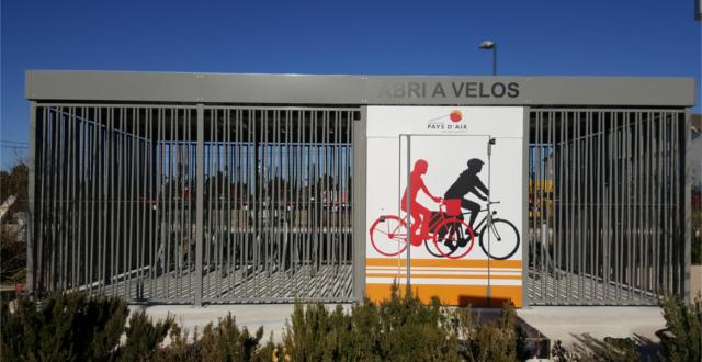 Consigne vélos fermée à Simiane Pays d'Aix