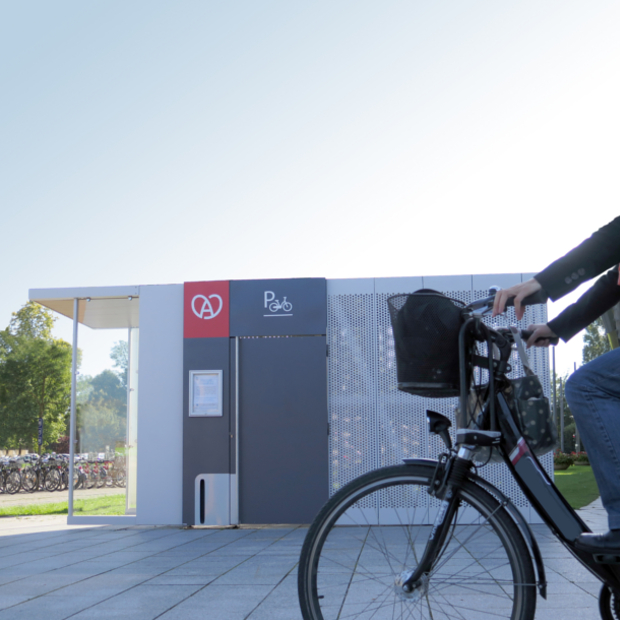 Consigne vélos sécurisée mobile