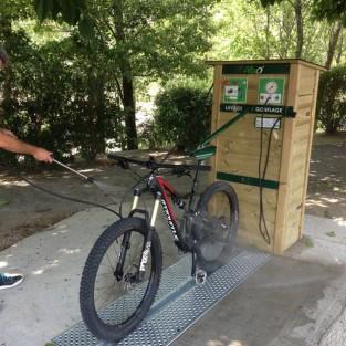 Station de lavage vélos ALTAO Modulo - DIGNE LES BAINS