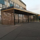 Abri vélos ouvert ALTINNOVA - ARGENTEUIL