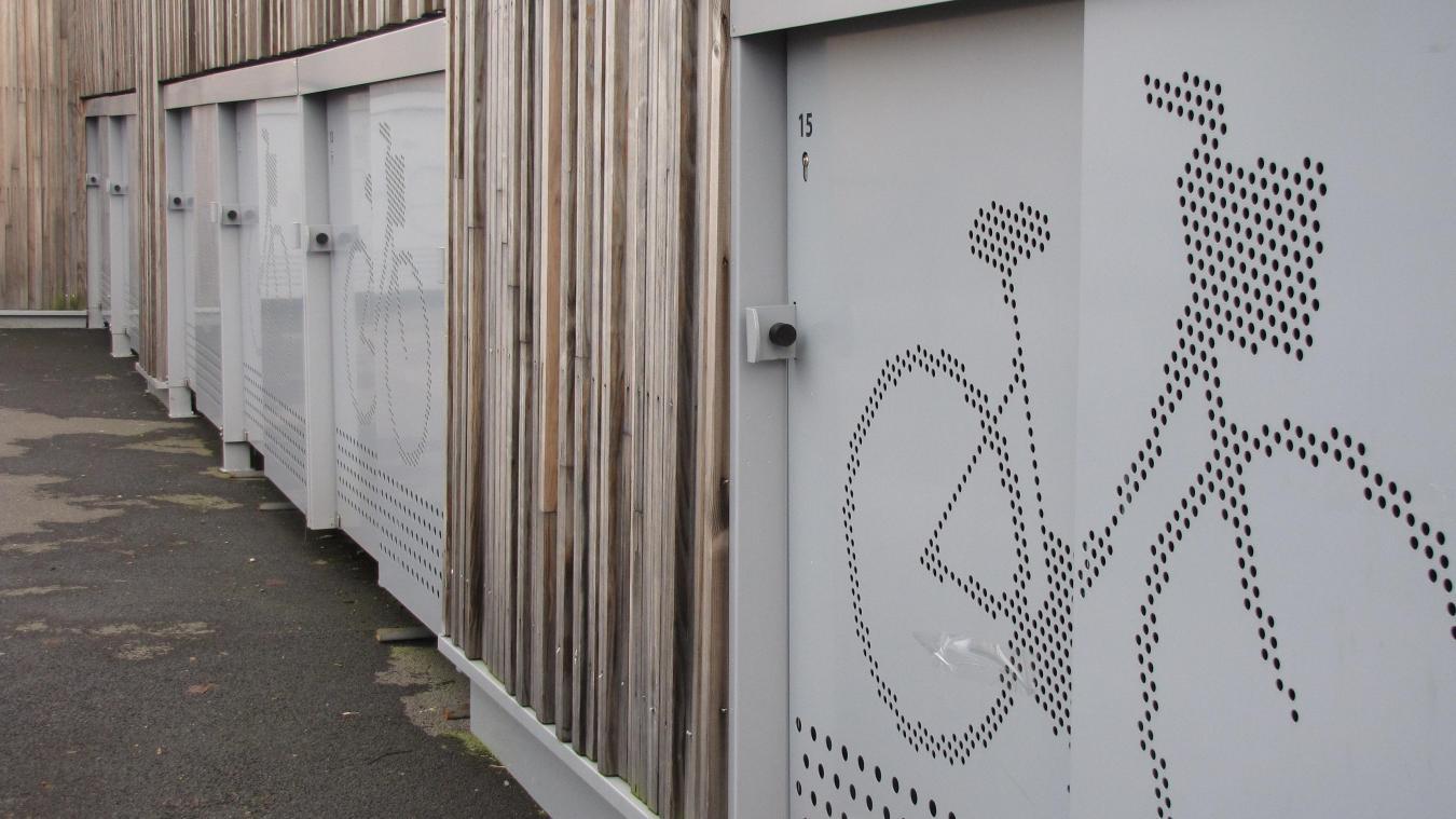 Des boxes vélos ALTAO® Cocoon à Clermont de l'Oise