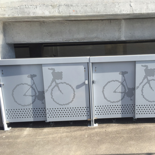 box vélos sécurisés