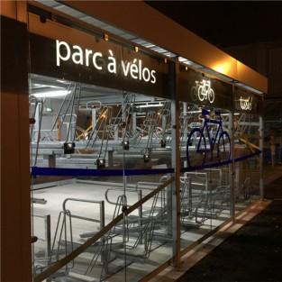 Abri vélos fermé ALTAO Spacio - TISSEO