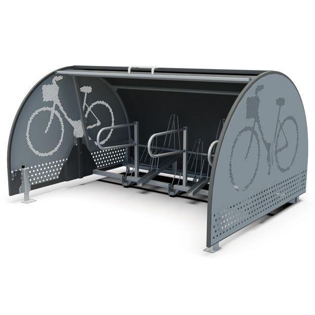 abri vélos sécurisé résidentiel