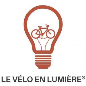 pictogramme le vélo en lumière