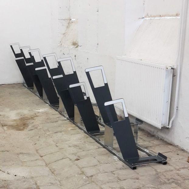 arceaux vélos urbains gris anthracite