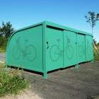consigne vélo ALTAO Cocoon parking covoiturage Saint Romain le Puy