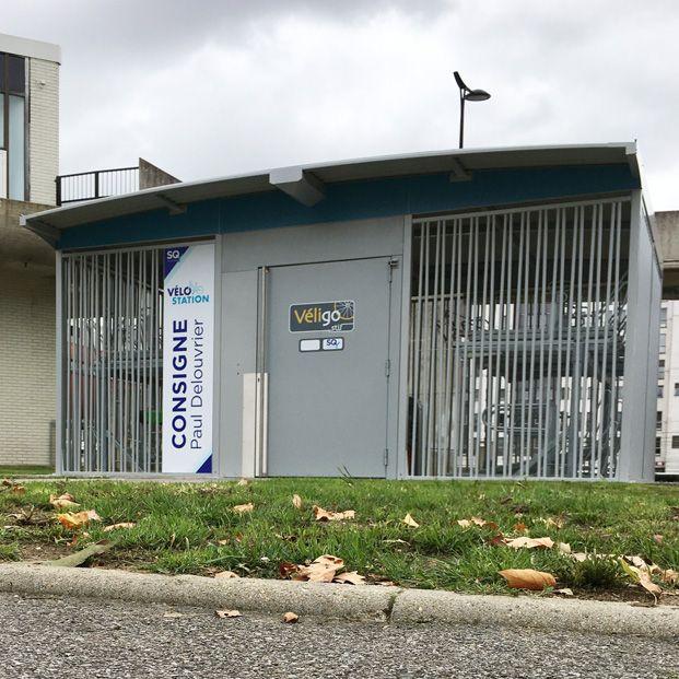 Consigne Véligo de Saint Quentin en Yvelines