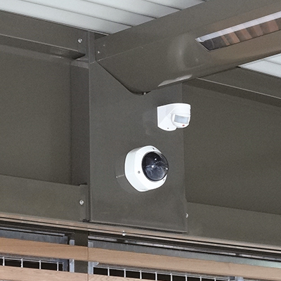 Système de vidéosurveillance et d'alarme