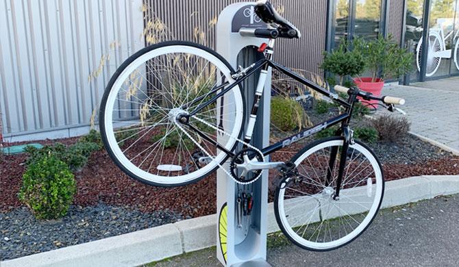borne de réparation vélo ALTAO® Fix