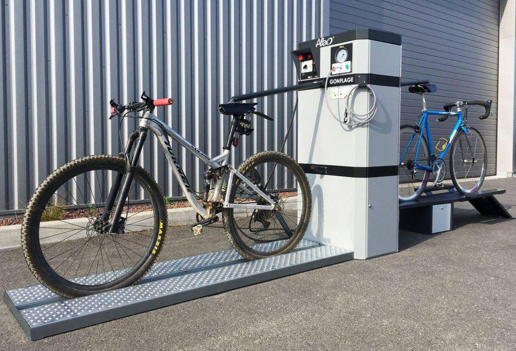 nouvelle station de lavage VTT
