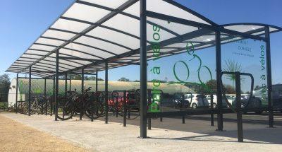 abri vélos - Université Poitiers - Altinnova©