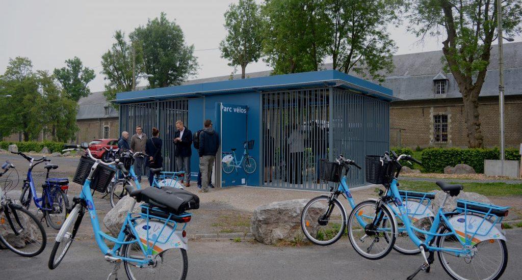 abri vélo ALTAO Spacio Arras
