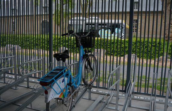abri vélo sécurisé à Arras