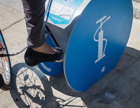 pompe à vélo Altinnova à Genève
