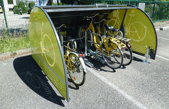 ALTAO Cover Minibox ouverts avec vélos
