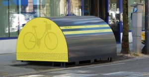 box vélo ALTAO Cover Minibox installé à Grenoble