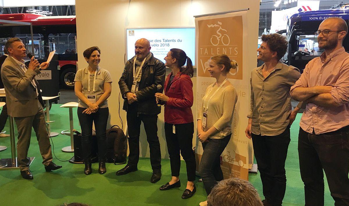 remise Talents du vélo 2018 catégorie Entreprenariat