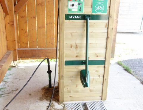 station de lavage VTT