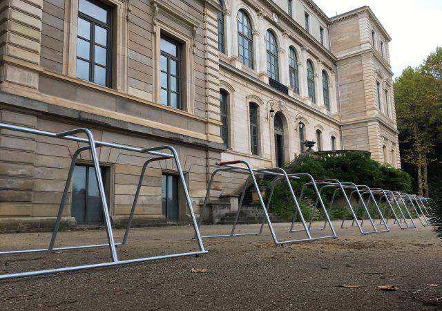 rack vélo événementiel ALTAO Mobile aux Journées Européennes du Patrimoine