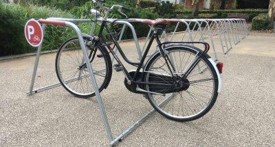 parking vélo temporaire ALTAO Mobile aux Journées Européennes du Patrimoine