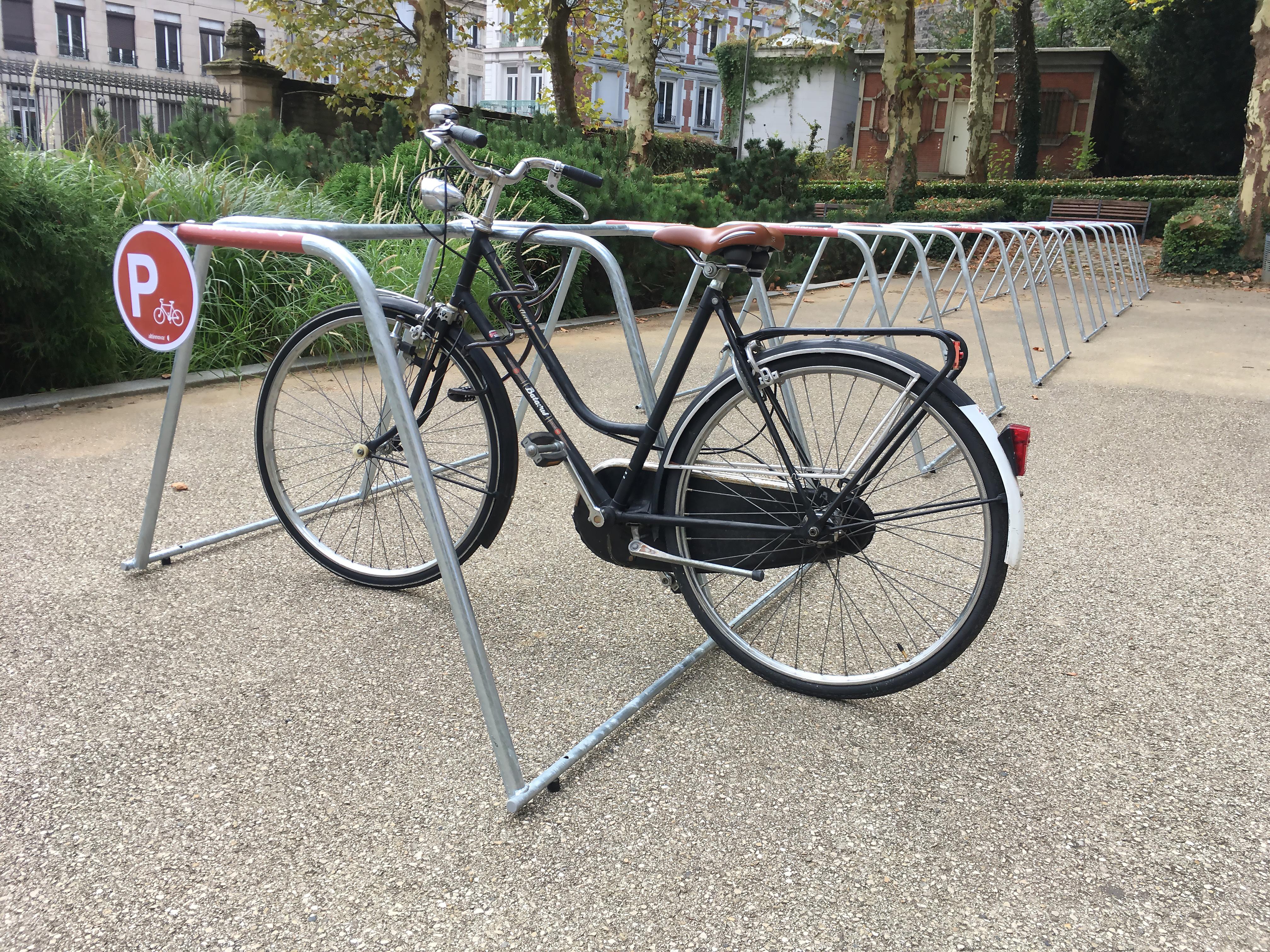 Abri Vélo Pas Cher un parking vélo temporaire pour les journées européennes du