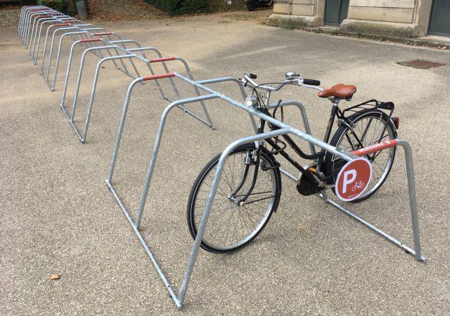 stationnement vélo événementiel ALTAO Mobile aux Journées Européennes du Patrimoine