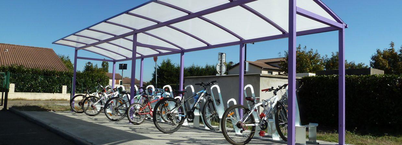 parking à vélos made in France à Bonson