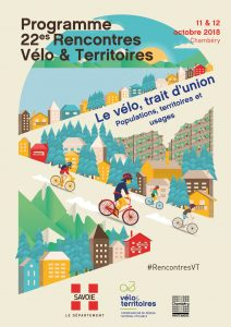 affiche rencontres Vélo & Territoires