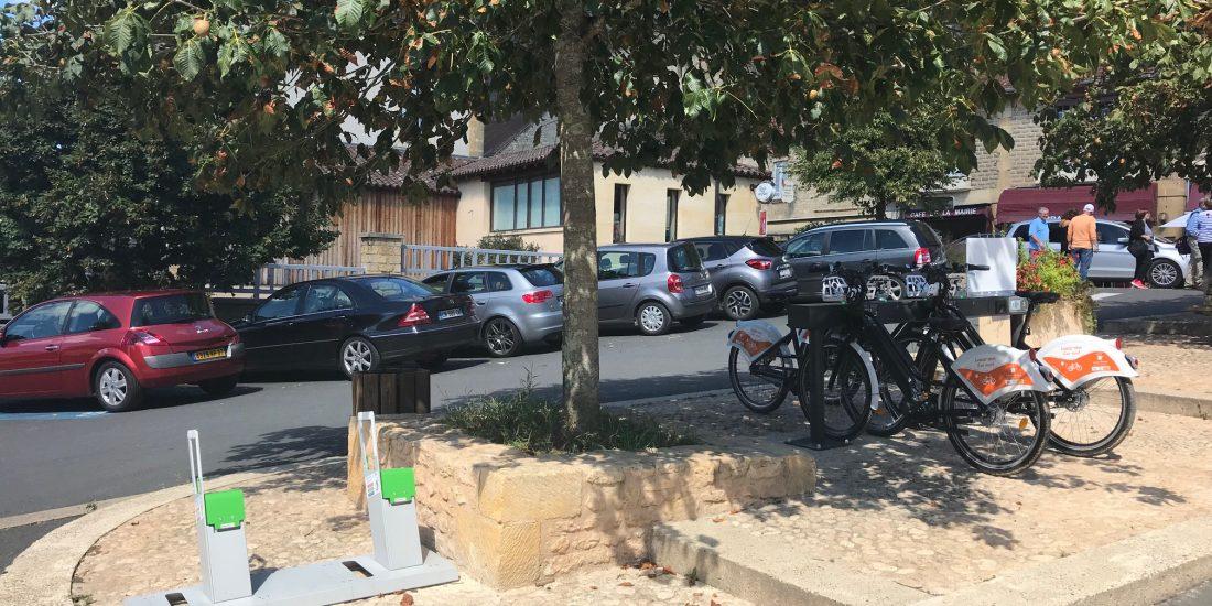 bornes de recharge pour vélos électriques ALTAO Parco VAE en Dordogne