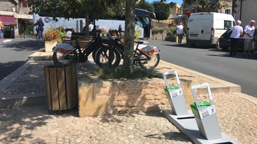 bornes de recharge pour vélos électriques Base des Eyzies