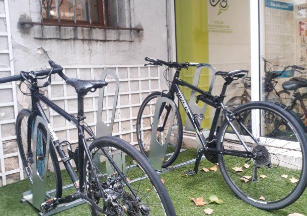 racks ALTAO Parco Accueil Vélo et Rando