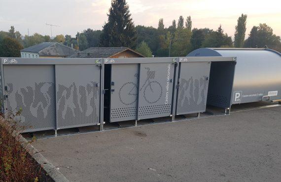 les box à vélos installés en Val Guiers