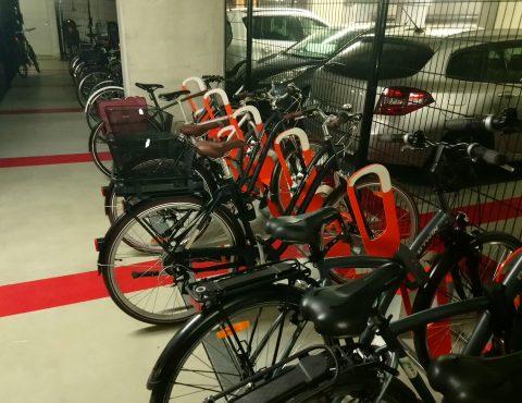 racks de stationnement parking à vélos en entreprise