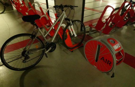 équipement de parking à vélos en entreprise