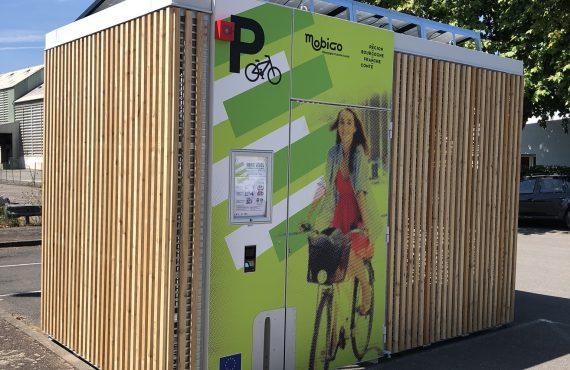 abris vélos solaires Abri Cigogne