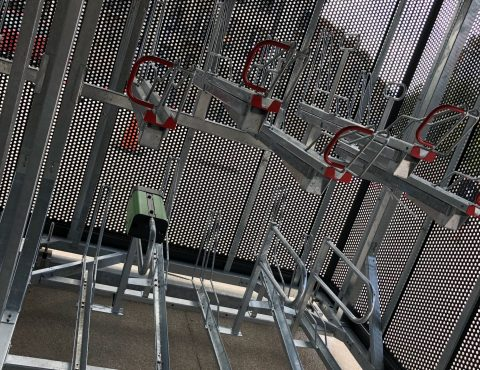 racks Optima abri vélos sécurisé en gare de Marseille