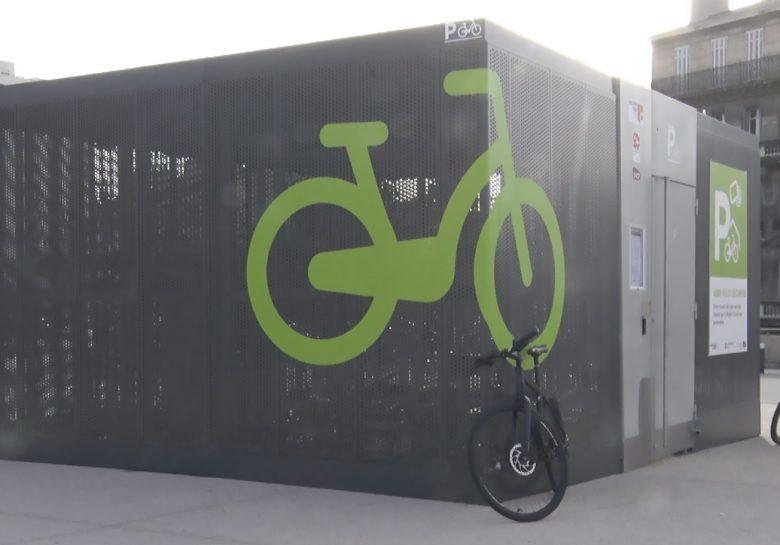 Abri vélos sécurisé en gare de Marseille