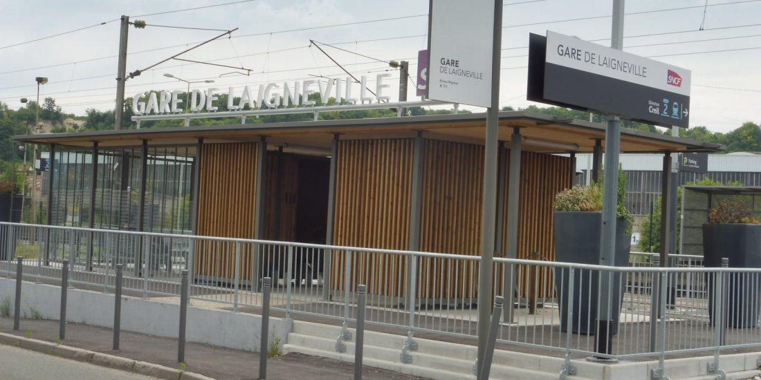 gare SNCF de Laigneville réalisée par Altinnova