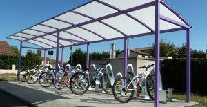 parking à vélos ALTINNOVA made in France à Bonson