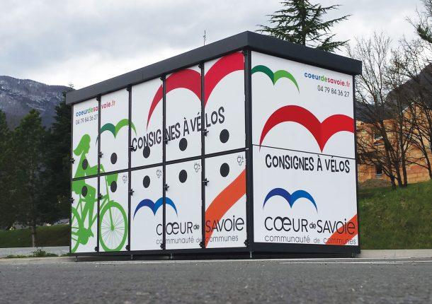consignes vélos sécurisées en Savoie