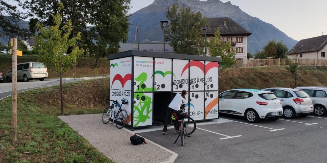 casiers vélos sécurisés en Savoie