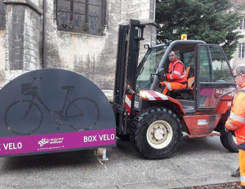 Nouveaux box vélo sécurisés installés