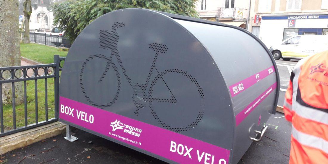 cinq nouveaux box vélo sécurisés