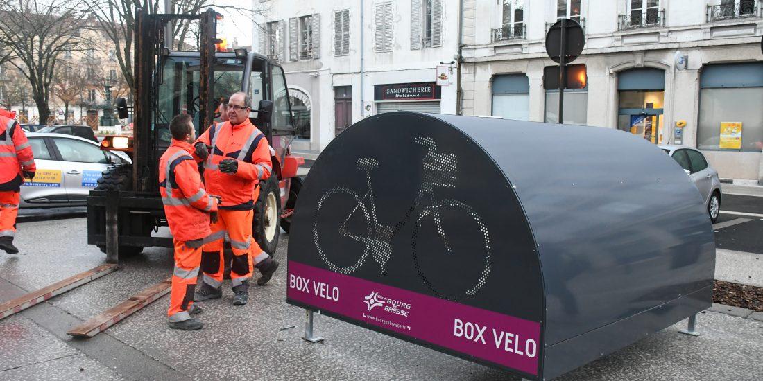 Nouveaux box vélo sécurisés