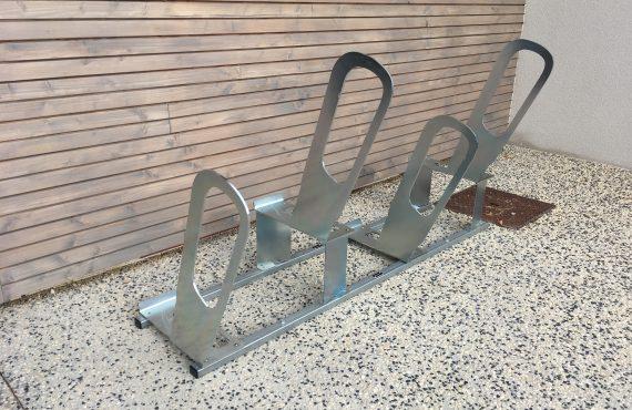 racks ALTAO Parco des parkings à vélos urbains de la médiathèque