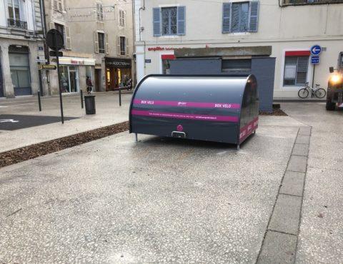 Nouveaux box vélo sécurisés à Bourg en Bresse